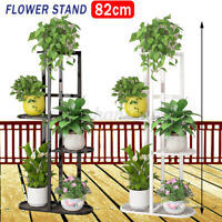 5 Tier Tall Plant Stand Rack Multiple Flower Pot Holder Shelf For Indoor Outdoor