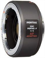 SMC PENTAX F 1.7X AF Adapter 1.7 X Teleconverter Lens NEW