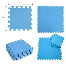Large Soft Foam EVA Floor Mat Tiles Interlocking Garden Play Gym Yoga 30 x 30cm