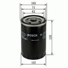 1x Bosch Oil Filter P2042 0986452042 [3165142096124]
