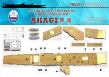 Shipyard 700033 1/700 Wood Deck IJN Akagi for Hasegawa