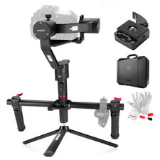 US Ship Moza Air 3 Axis Gimbal Dual Handle Grip Stabilizer Kit f DSLR Mirrorless