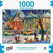 1000PC PUZZLE JIGSAW WINTER WONDERLAND WINTER PLAY PUZZLE BY SURE LOX