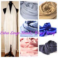 Cashmere Pashmina Extra Large Shawl Wrap Scarf Travel Blanket Soft Handwoven