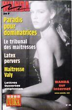 French mag adult WANDA n°30 bdsm latex fetish