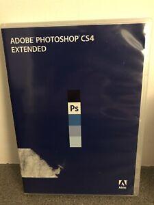 Photoshop CS4 Extended - Mac - Full Retail - Box & Discs