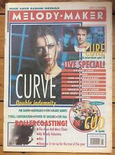 Melody Maker 14/3/92 Curve, Cud, The Cure, Chic, Power Of Dreams