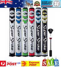 SuperStroke Counter Weight Putter Grip -Slim 3 (31mm) Green/White - Super Stroke