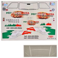 Decal Sheets 1:10 Desperado Pizza Stickers for Lunch Box Carson 69190 800009