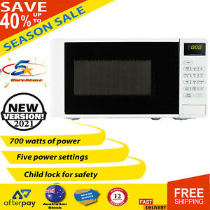 Heavy Duty Compact Microwave Oven 700W Child Lock Safety Touchpad Control AU