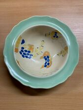 "ROYAL DOULTON ""CAPRICE"" ART DECO HAND PAINTED 6.5""-WIDE SMALL BOWL"