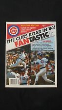 Vintage MINT 1984 The Cubs Roar In '84 Fantastic Magazine / Poster Chicago Cubs