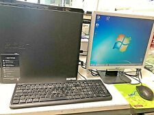 """ACER Aspire PC M3970  Intel I5-2320 + Monitor Acer AL1716 17"""" + mouse + keyboard"""