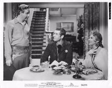 "Robert Ryan, Virginia Mayo, ""The Proud Ones"" vintage movie still"
