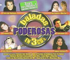 NEW Baladas Poderosas En 3 CD's (Audio CD)