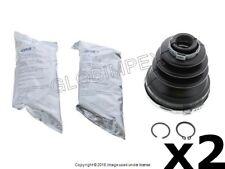 SAAB 9-3 9-3X (2008-2011) C.V. Boot Kit REAR L & R INNER (2) GKN LOEBRO OEM