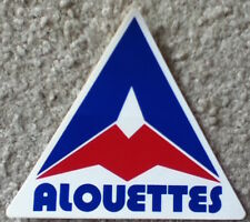 vintage Montreal Alouettes (CFL) football sticker