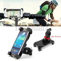 360° Universal Motorcycle Bike Bicycle MTB Handlebar Mount Holder For Cell Phone