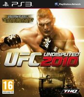 Jeu PS3 UFC Undisputed 2010 Occasion
