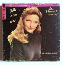 Julie London Is Her Name Vol II Liberty RCA Tape Cartridge 4-Track K7100 3¾ IPS