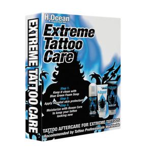 H2Ocean Extreme Tattoo Care Kit Aftercare ETC Aquatat+ Cream + Soap