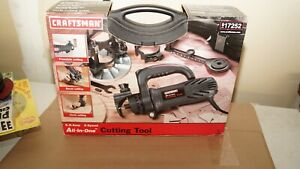 Craftsman All-In-One Rotary Cutting Tool Kit w/ a resin carrying/storage case