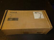 IKEA FORSA Schreibtischlampe schwarz