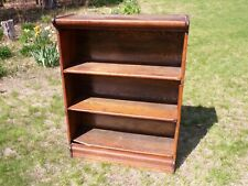 Antique Oak Barrister 3 Section Stacking Bookcase Mission Oak Quatersawn