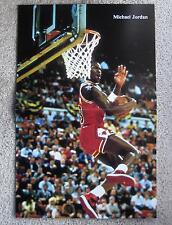 Vtg Michael Jordan 1984-85 Chicago Bulls RC Poster NIKE Air Jordan1 Basketball86