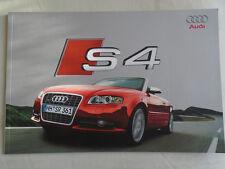 AUDI S4 BROCHURE APR 2006 TESTO TEDESCO