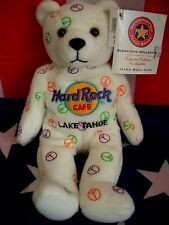 HRC Hard Rock Cafe Lake Tahoe Peace Beara Bear Bär Series Herrington