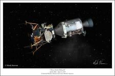 """Apollo 13 Space Art Print by Mark Karvon, Size 16"""" x 24"""""""