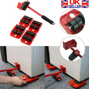 Heavy Furniture Shifter Lifter Wheels Transport Slider Mover Easy Move Removal