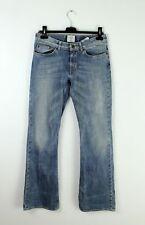 H&M woman boot cut light blue jeans pants trousers size 28