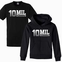 Kids 10 Mil MGZ Youtuber Pullover Hoodie T-Shirt Gaming Gamer Team Morgz Tee Top