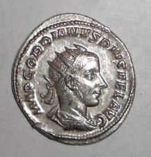 Aeqvitas Avg Lovely Roman Coin Silver Antoninianus Gordian Iii 238-244 Ad Roman Imperial (235-476ad)