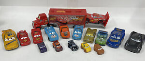Disney Pixar Cars 17x Diecast Cars Lot