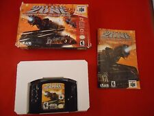 Battlezone: Rise of the Black Dogs (Nintendo 64, 2000) N64 COMPLETE w/ Box #H1