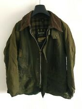 Mens Barbour Bedale wax jacket Green coat 42 in size Medium / Large #3 M/L