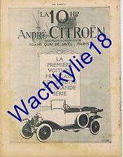 Les annales n°1930 - 20/06/1920 Woog Ida Rubinstein Gustave Le Bon 10 HP Citroën