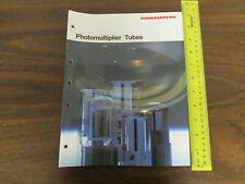 Hamamatsu Photomultiplier Tubes Catalog 76pp 1990