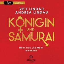 EV*9.7.2018 Veit + Andrea Lindau: Königin und Samurai HÖRBUCH Wenn Frau und Mann