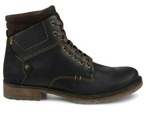 Franco Fortini Amped men's boots shoes size 14 black/brown 354089 NEW