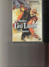 KINO VIDEO ... THE LAST LAUGH 2-DVD... F.W. MURNAU Factory Sealed Deluxe Edition