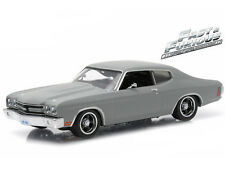 1/43 Greenlight Fast & Furious Dom's 1970 Chevy Chevelle ss Grey 86227