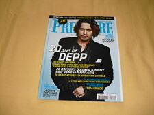 PREMIERE N°341 juillet 2005 Johnny Depp