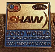 Curling Pin - For World Curling Championship 2005 Men's Victoria