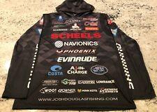 Josh Douglas Autographed Flw Tour Tournament Hoody Jersey
