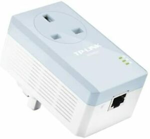 TP-LINK AV200 Powerline Adapter With AC Pass Through Starter TL-PA251 socket