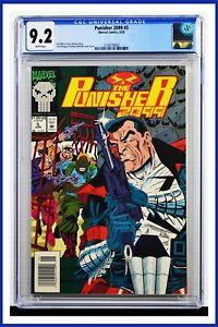 Punisher 2099 #5 CGC Graded 9.2 Marvel June 1993 Newsstand Edition Comic Book